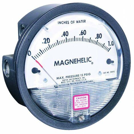 Manomètre Magnehelic 2000-250PA
