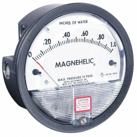Manomètre Magnehelic 2000-2KPA