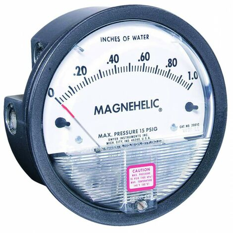 Manomètre Magnehelic 2000-500PA