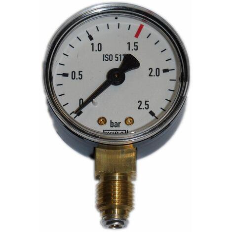 Manomètre oxygène BP : 0 à 2,5 B