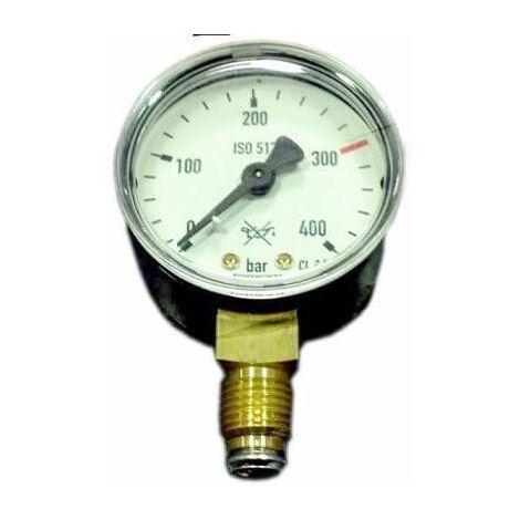 Manomètre oxygène HP : 0 à 400 B