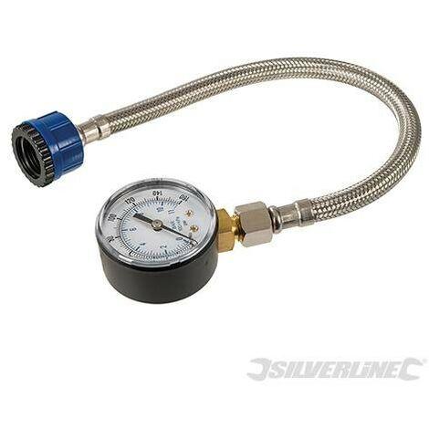 Manomètre pour conduites d'eau, 0 - 11 bar ( 0 - 160 psi)