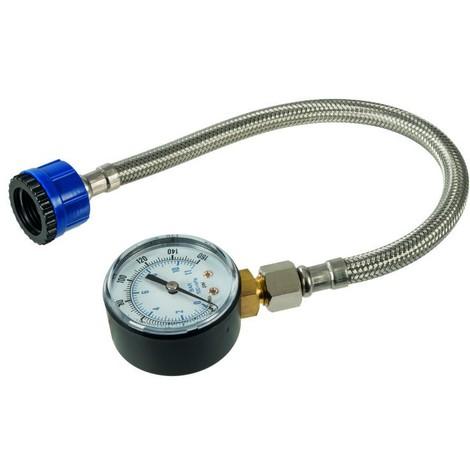 0-160psi,0-11bar Manom/ètre m/écanique Manom/ètre 1//8 de pouce BSPT pour air-huile et eau