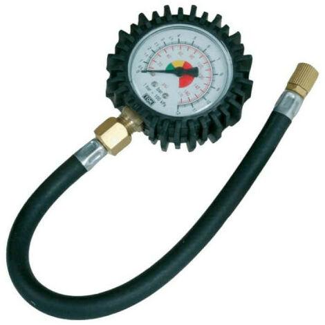 Manomètre pour pneus - 0-10 bar - 282411 - Rouge
