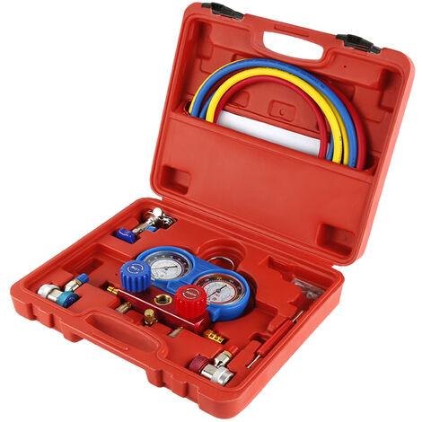 """main image of """"Manometro de dos vías medidor de presión gases para aire acondicionado Kit"""""""