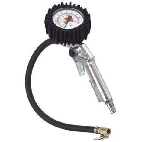 Manómetro de precisión para neumáticos Einhell