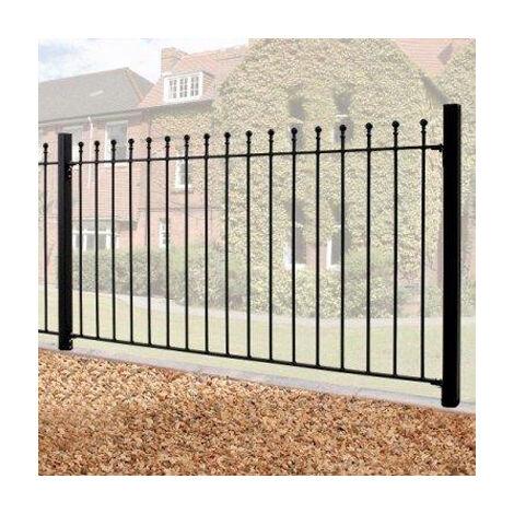 Manor Ball Top 1.8m x Metal Fence Panel