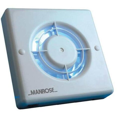 Manrose 100mm (4inch.) 12V Automatic Low Voltage Extractor Fan w/ Humidity Control - XF100HLV