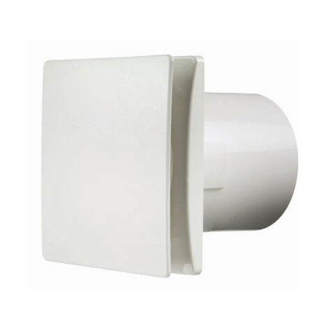 Manrose 100mm (4inch.) Bathroom Extractror Fan with Integral Timer - DECO100TW