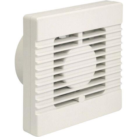 "Manrose 100mm Intervent 4"" Bathroom/Toilet Humidity Extractor Fan - NVF100H"
