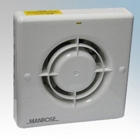 Manrose 150mm (6inch.) 12V Low Voltage Extractor Fan - XF150ALV