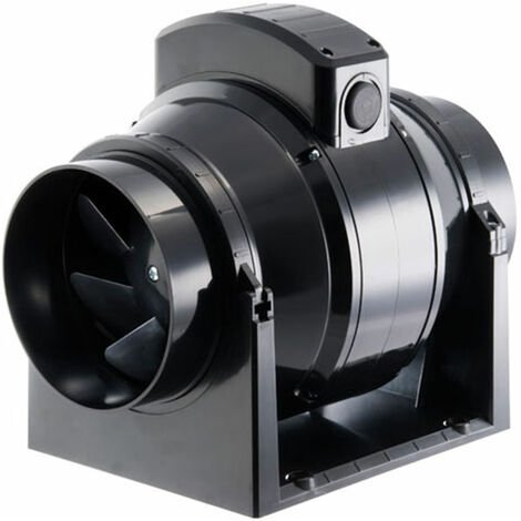 Manrose 200mm In-Line Mixed Flow Extractor Fan with Timer - MF200T