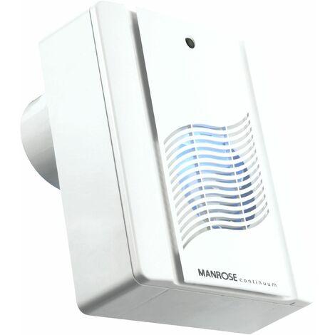 "Manrose 4""/100mm M200S Slimline Centrifugal Fan Standard - M200S"