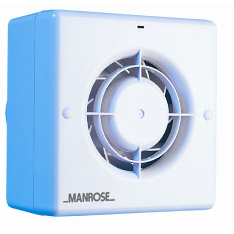 Manrose CF100H 100mm 4inch. Centrifugal Extractor Fan with Humidistat