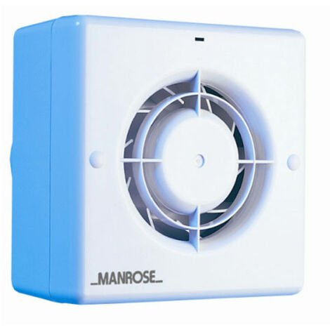 Manrose CF100PIR 100mm 4inch. Centrifugal Extractor Fan with PIR & Timer