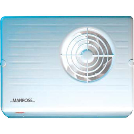 Manrose CF200H 100mm 4inch. Centrifugal Extractor Fan with Humidistat