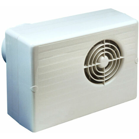 Manrose CF200HP 100mm 4inch. Centrifugal Extractor Fan with Humidistat & Pullcord