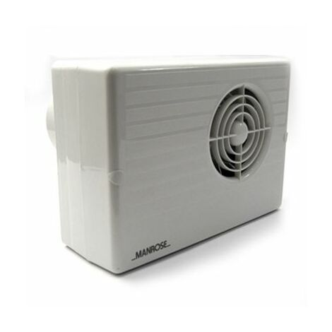 Manrose CF200T 100mm 4inch. Centrifugal Extractor Fan with Timer