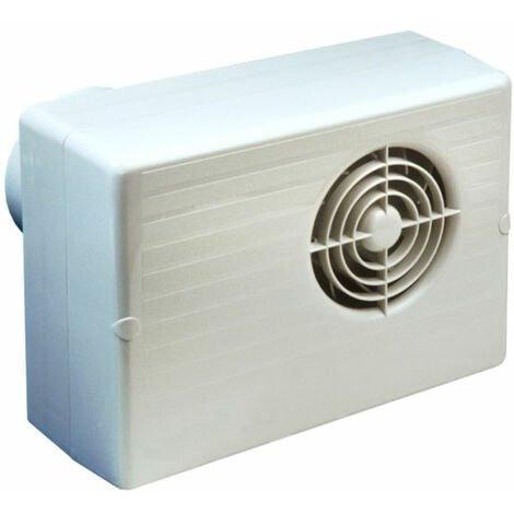 Manrose CF200TP 100mm 4inch. Centrifugal Extractor Fan with Timer & Pullcord