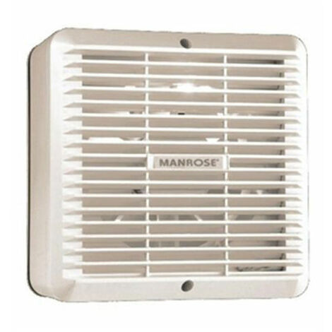 Manrose COMG150A 150mm/6inch. Commercial Window Fan Auto with Internal Shutters