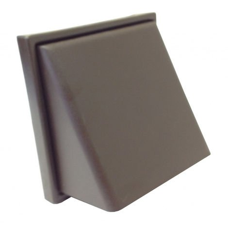 """Manrose Cowl Vent - 4"""" Extractor Fan Cover - Brown"""