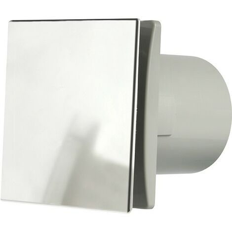 Manrose DECO150SC 150mm (6inch.) Bathroom Extractror Fan with Aluminium Front Cover