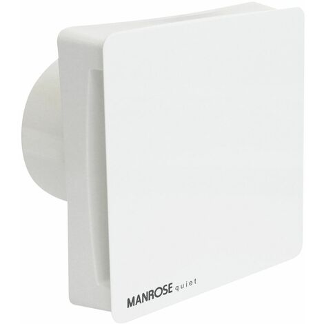"""Manrose Extractor Fan Bathroom Kitchen Quiet Timer Humidistat 4"""" 100mm Axial"""