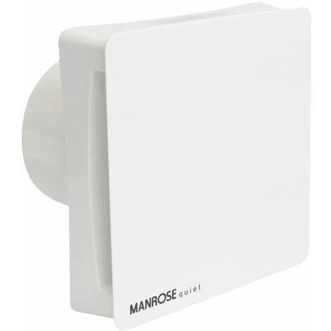 Manrose Extractor Fan Bathroom Toilet Silent Timer Humidistat 100mm CSF100H