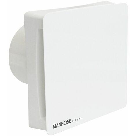 """Manrose Extractor Fan Toilet Bathroom Silent Standard 4"""" 100mm Axial CSF100S"""
