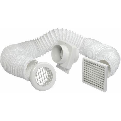 Manrose Intervent 4inch. In-Line Shower Fan - VSF100S