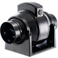 Manrose MF100T In - Line Mixed Flow Extractor Fan with Timer