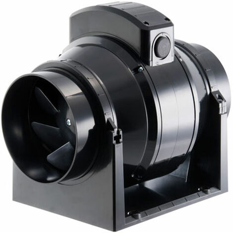 Manrose MF125S 125mm In-Line Mixed Flow Extractor Fan