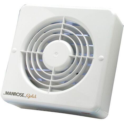 Manrose MG100S 12W Gold Standard Axial Bathroom Extractor Fan