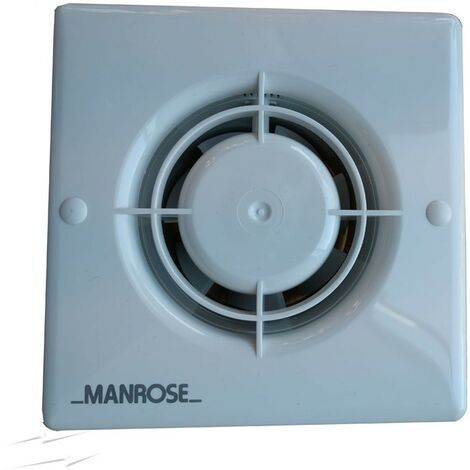 Manrose XF100H 100mm 20W Axial Bathroom Fan