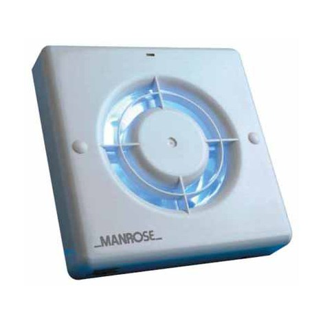 """Manrose XF100S 4"""" Extractor Fan (no Timer)"""