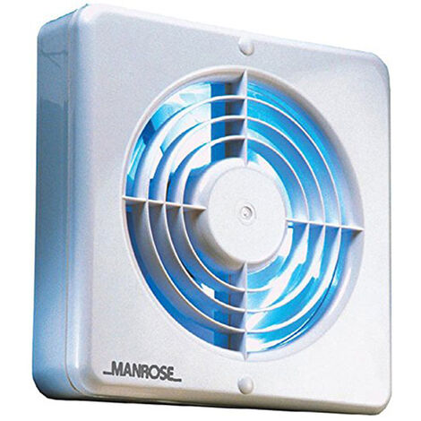 Manrose XF150BP 150mm (6inch.) Axial Extractor Fan with Pullcord Switch