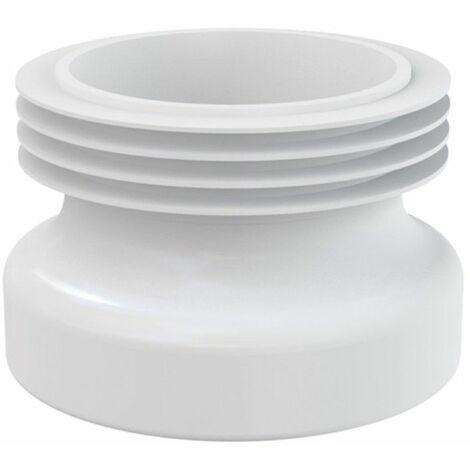 Manschette Rosette für WC- Anschluss Ablaufgarnitur Anschluss DN 110 Ausführung gerade