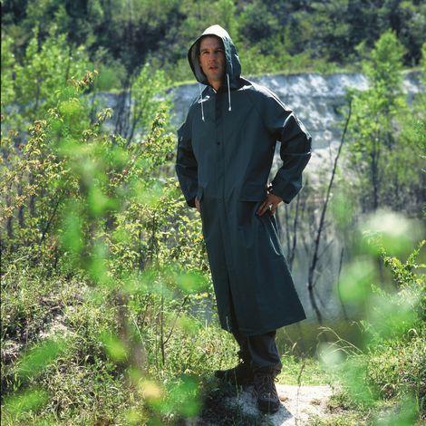 Manteau de pluie PVC Lari Cap Vert - Vert - Taille XL