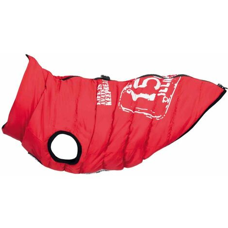 Manteau saint-malo avec harnais - XS: 30 cm: 42 cm, rouge