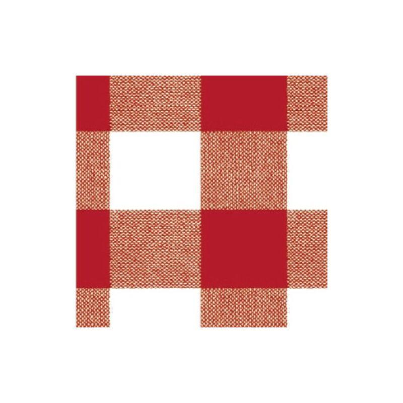 Nappe Rouleau caoutchouc 140 cm. x 20 mètres carrés rouges