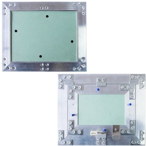 Mantenimiento Solapa de inspección 60x60 Solapa de inspección de aluminio Sala húmeda Placa de yeso
