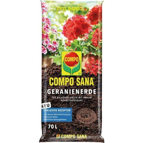 Mantillo geranio 70L COMPO SANA (por 39)