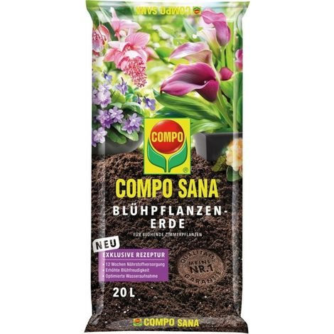 Mantillo vegetal de flor 20L COMPO SANA (por 45)