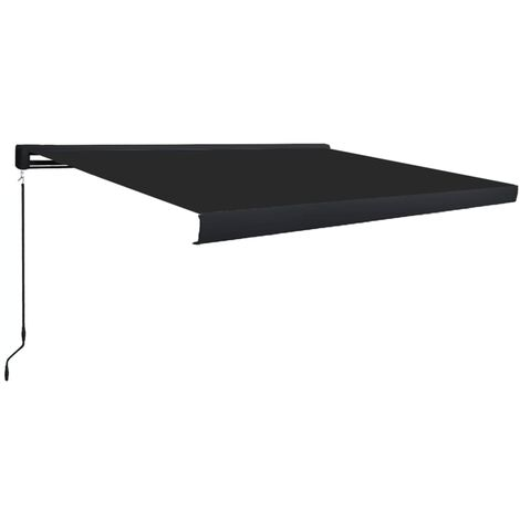 Manual Cassette Awning 450x300 cm Anthracite