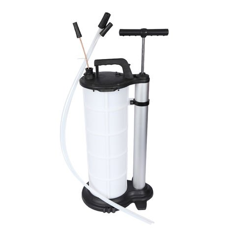Manual Fluid Extractor with 9l Tank incl. Suction Hoses for Oils, Water, etc.