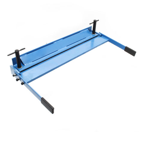 Manually Operated Sheet Metal Bending Machine with 1000 mm Working Width, Folds up to 135°
