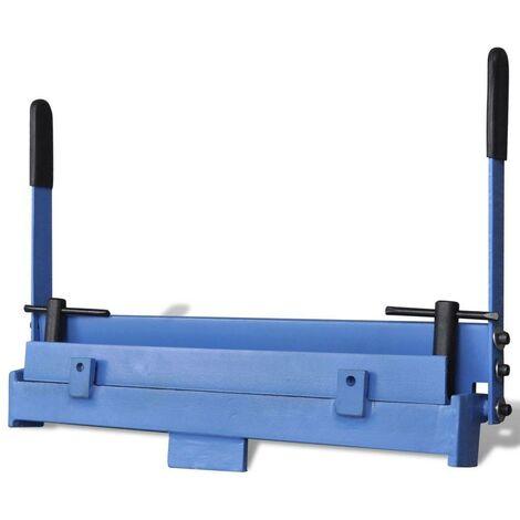 Manually Operated Sheet Metal Folding Machine 450 mm