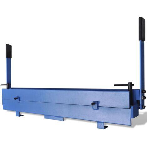 Manually Operated Sheet Metal Folding Machine 930 mm