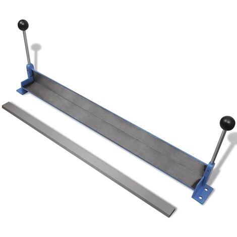 Manually Operated Steel Plate Folding Machine 760 mm