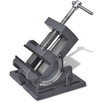 Manually Operated Tilting Drill Press Vice